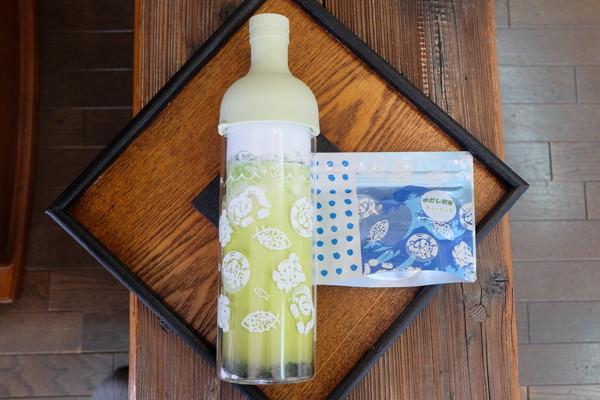 【ふるさと納税】a10-023 水だし煎茶ティーバックとフィルターインボトル