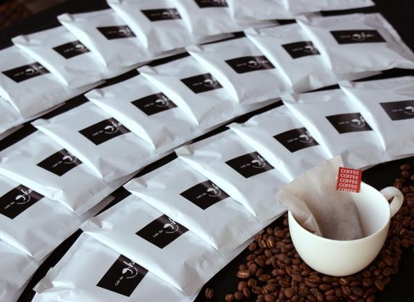 【ふるさと納税】a10-065 自家焙煎コーヒーバッグ20杯分