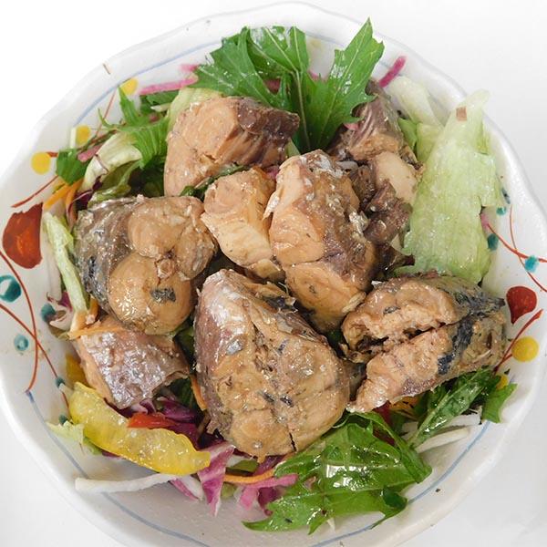 【ふるさと納税】a10-428 骨まで食べられる焼津産さばのオリーブオイル漬け