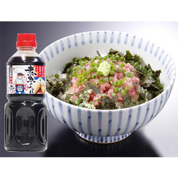 【ふるさと納税】a10-521 まぐろ・ねぎとろ 計約950g と 煮魚のたれ セット