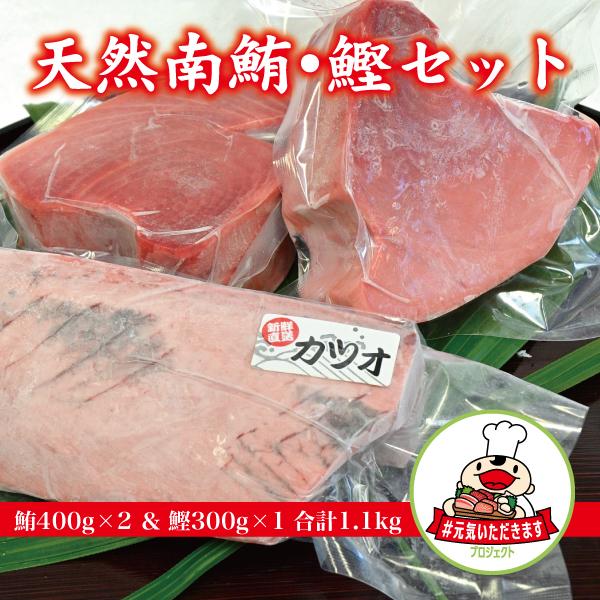 【ふるさと納税】a10-594 焼津 ミナミ マグロ・カツオ セット