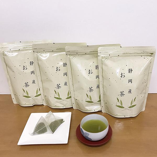 商舗 焼津市ふるさと納税お礼品 ふるさと納税 a12-004 いつでも送料無料 FORIVORA ティーバッグ緑茶セット