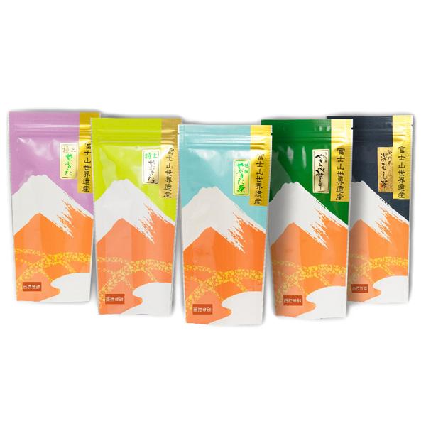 低価格化 焼津市ふるさと納税お礼品 ふるさと納税 静岡茶飲み比べ5本セット a15-152 安い
