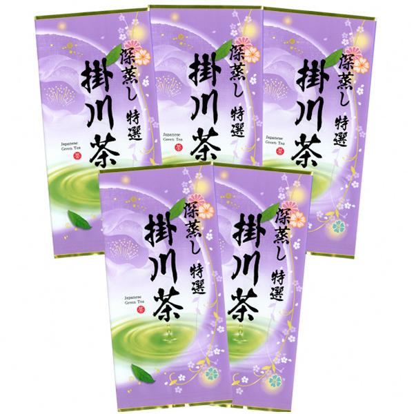 【ふるさと納税】a19-003 世界農業遺産「茶草場農法」の深蒸し茶5本セット