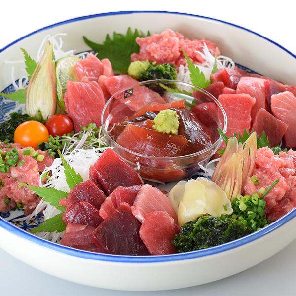 【ふるさと納税】a20-216 今夜は謝魚祭!天然まぐろいっぱい。