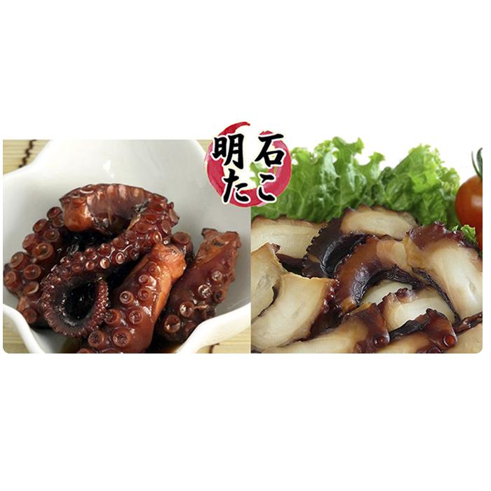 兵庫県明石市 特価品コーナー☆ ふるさと納税 明石ダコの蛸タコ Aセット 魚貝類 加工食品 [並行輸入品] くんせい 燻製 タコ