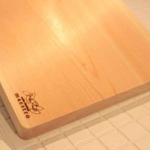 【ふるさと納税】紀州ヒノキ(一枚板)まな板 家具職人カンナ造り