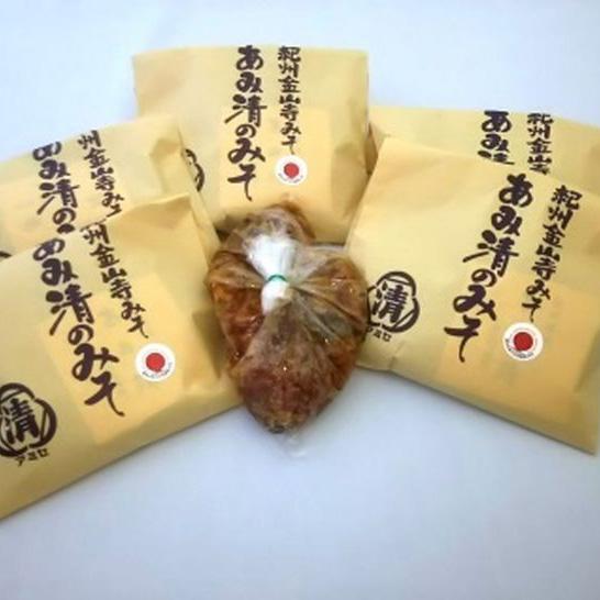 店内全品対象 ふるさと納税 ■紀州金山寺味噌 ご家庭用 257g6包 保障