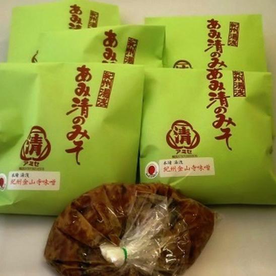【ふるさと納税】■紀州金山寺味噌 ご家庭用 514g6包