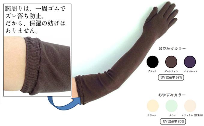 """ふるさと納税 おやすみ保湿 """"オリーブの恵みシリーズ"""" ロング五指ファッション・小物OiPkXuTZ"""
