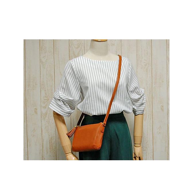 【ふるさと納税】A-LOOK オリーブレザーポシェット 【ファッション・カバン・ショルダーバッグ・バッグ】