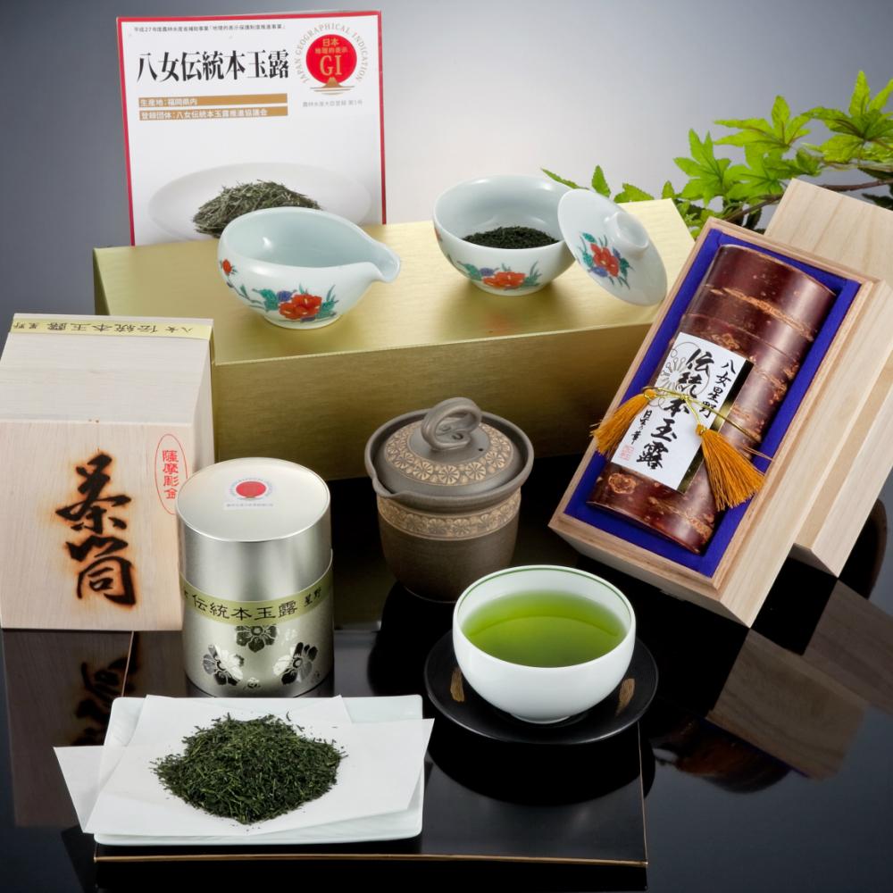 【ふるさと納税】【L-002】八女伝統本玉露:星乃しずく茶Aセット