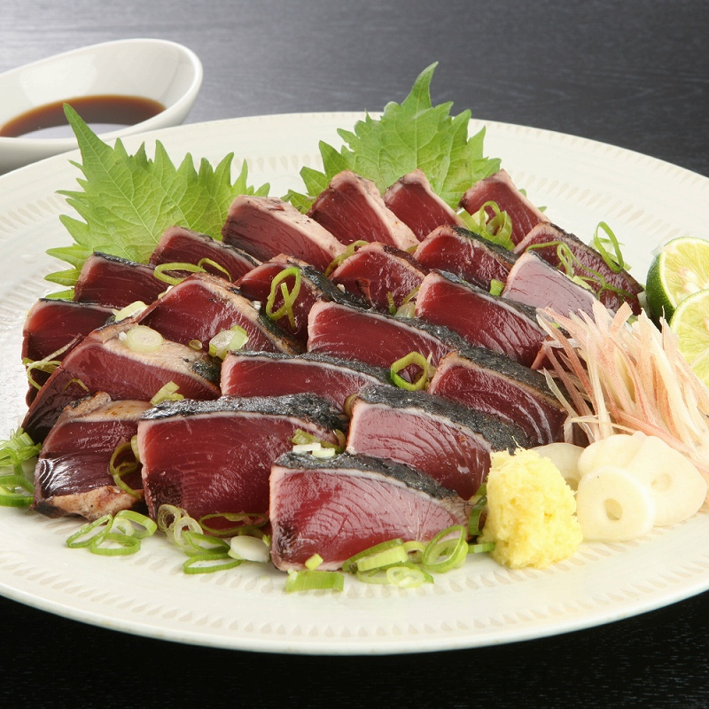 【ふるさと納税】【A5-169】魚市場厳選 炭火焼かつおのたたき 約2.2kg