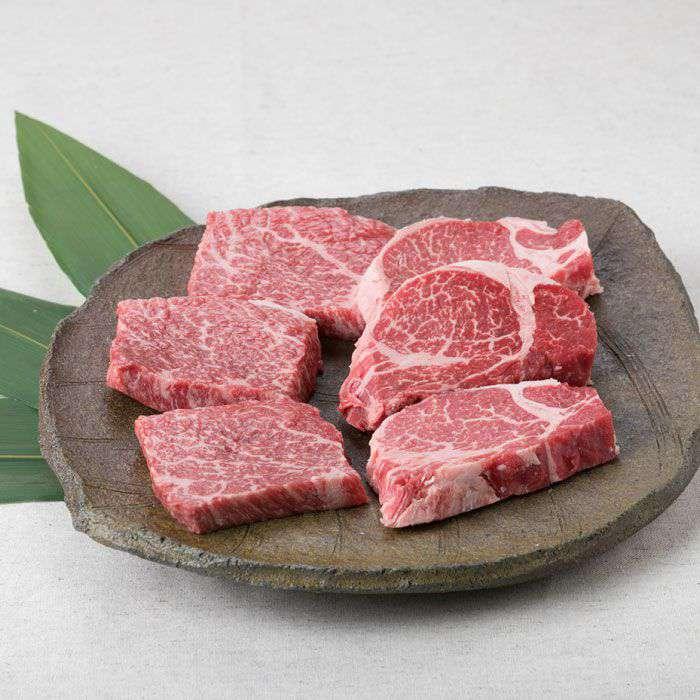 【ふるさと納税】【まるごと糸島】A4ランク糸島黒毛和牛柔らかステーキ肉セット(ヒレ肉、ランプ肉)480g入り ACA009