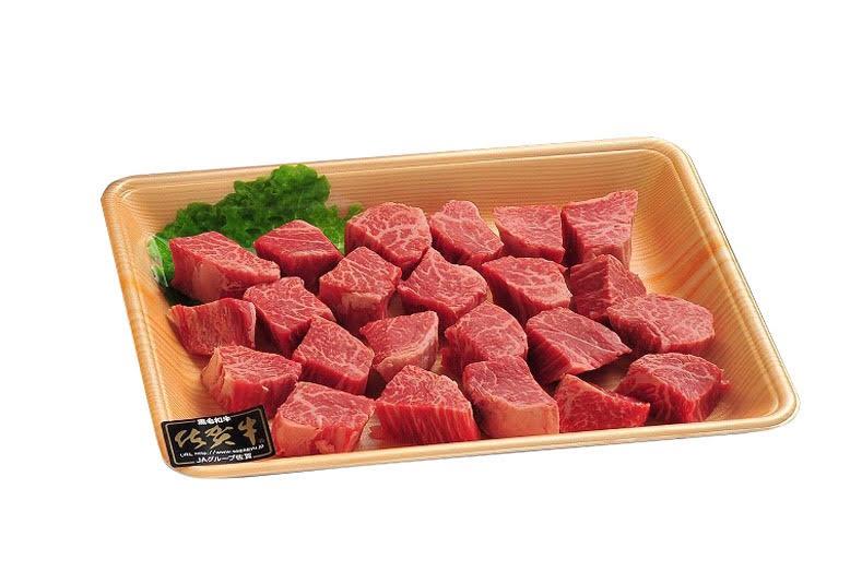 ふるさと納税 再販ご予約限定送料無料 お箸で食べるステーキ DP030 佐賀牛ヒレのサイコロステーキ400g ショップ