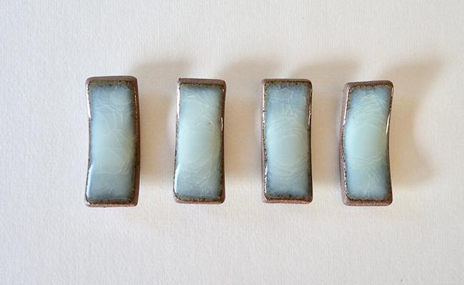 A12-52【ふるさと納税】茂正工房 月白青瓷箸置き4個セット