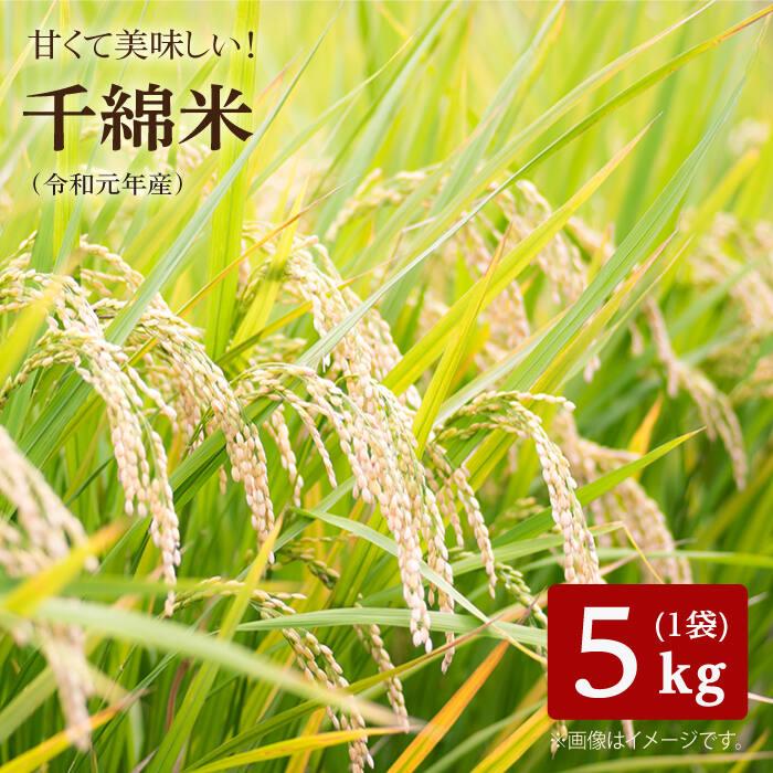 正規販売店 龍頭泉から流れる豊かな水と 肥沃な棚田で作られたお米 ふるさと納税 甘くて美味しい千綿米 令和2年度産 激安特価品 スマイルクローバー 5kg BAT011