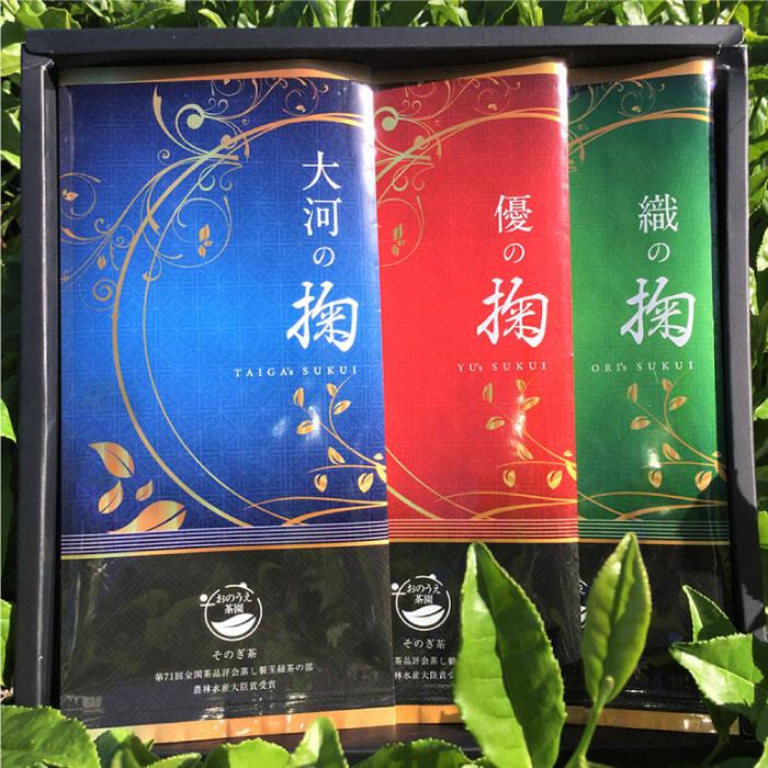 【ふるさと納税】BBD001 【そのぎ茶】掬(すくい)オリジナルセット ちゃーみる付き【おのうえ茶園】