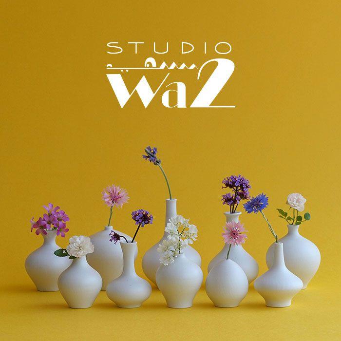【ふるさと納税】【波佐見焼】ミニ花瓶 10個セット【studio wani】 [MB16]