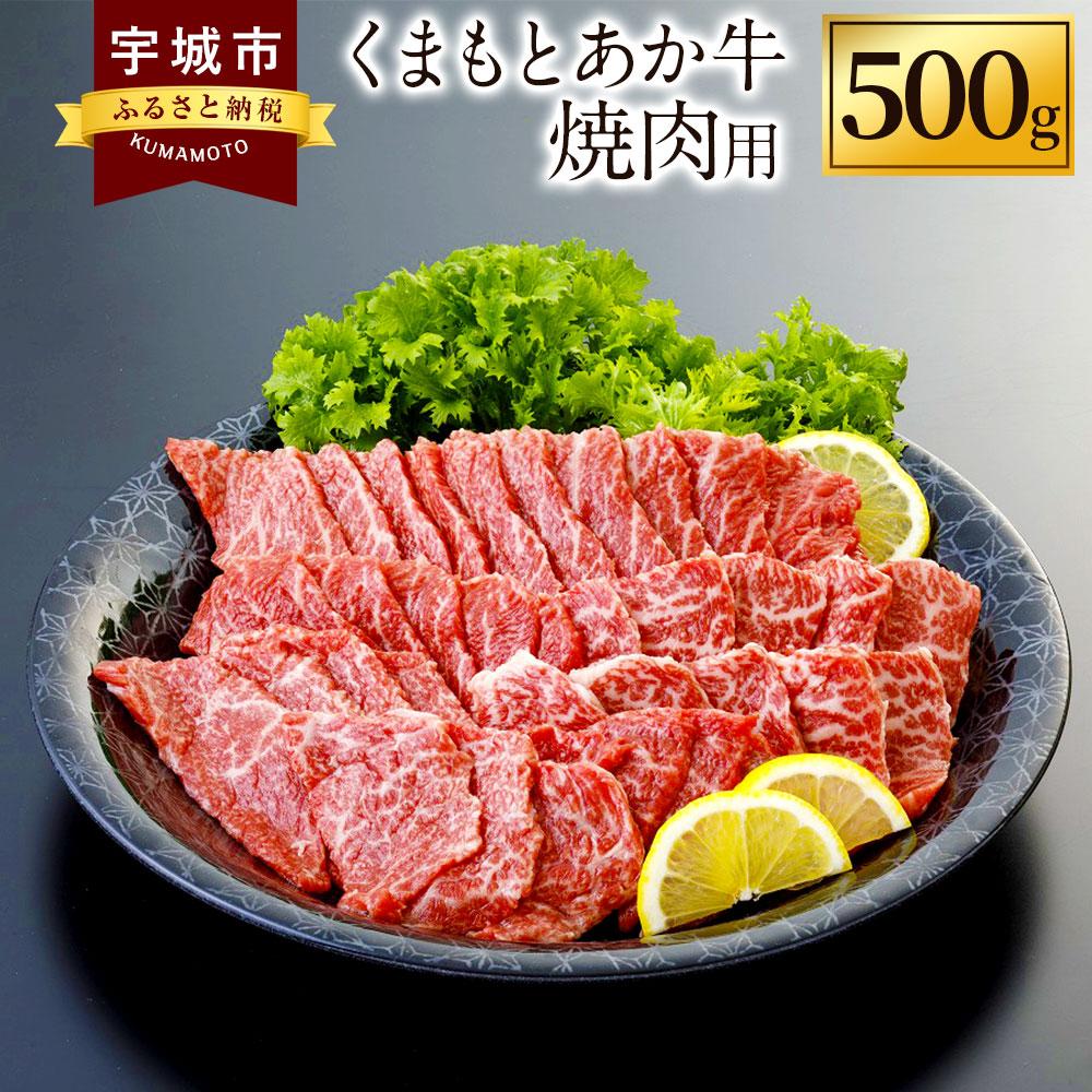 【ふるさと納税】くまもとあか牛 焼肉用 500g 肉 お肉 にく 牛肉 焼き肉 焼肉 やきにく ヤキニク 焼肉用 赤牛 熊本県産 九州産 冷凍 送料無料