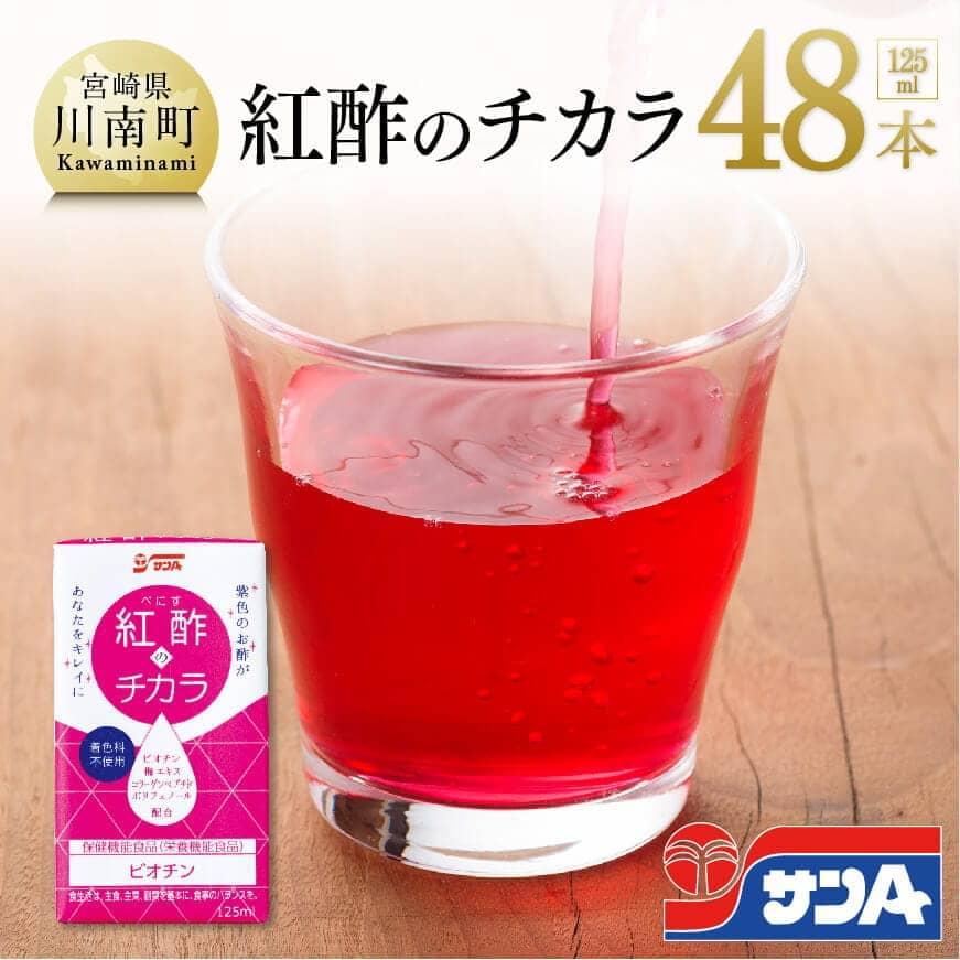 【ふるさと納税】サンA紅酢のチカラ48本セット, アイスクリームすきだもん:1eb60658 --- officewill.xsrv.jp