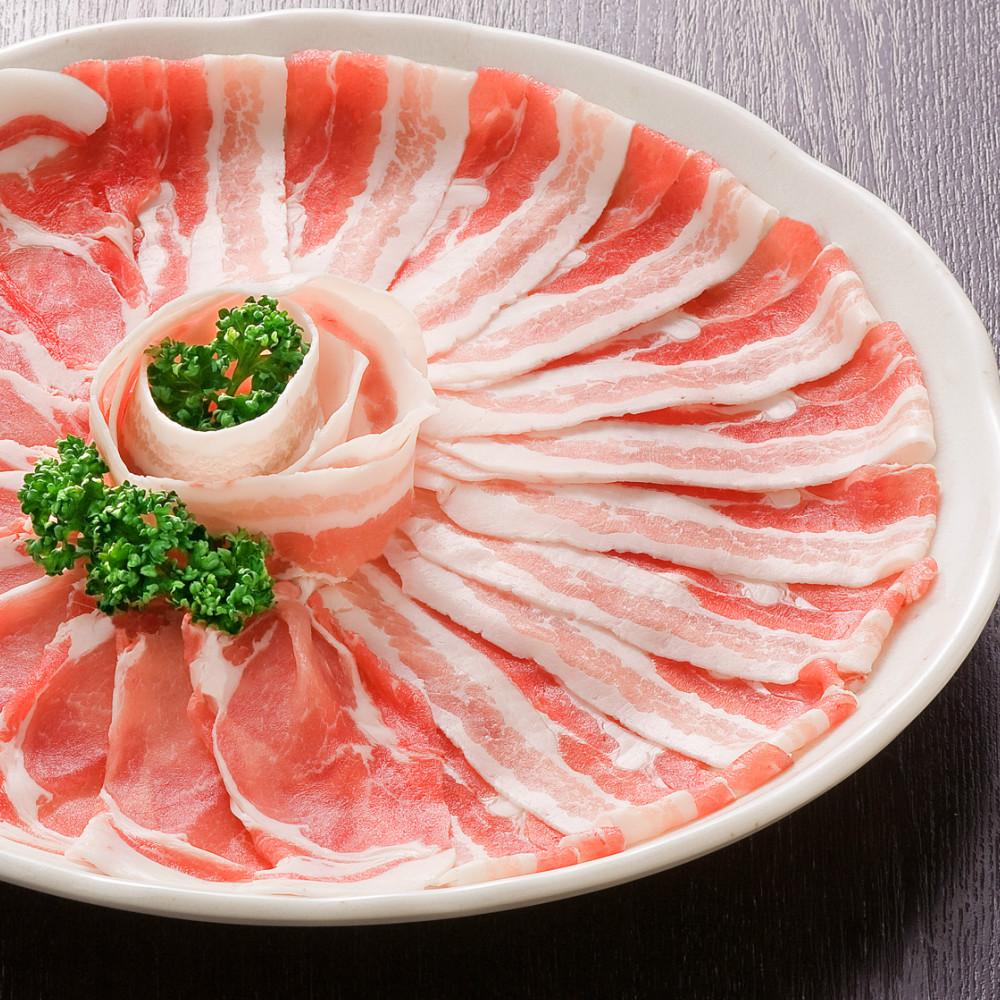□【ふるさと納税】【鹿児島県産】黒豚しゃぶしゃぶ肉700g(ゆずポン酢付き)