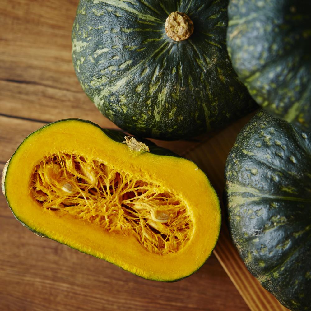 □【ふるさと納税】【かごしまブランド】加世田のかぼちゃ 4個