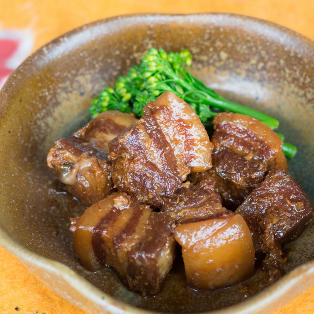 □【ふるさと納税】黒豚の角煮セット(130g×3袋)