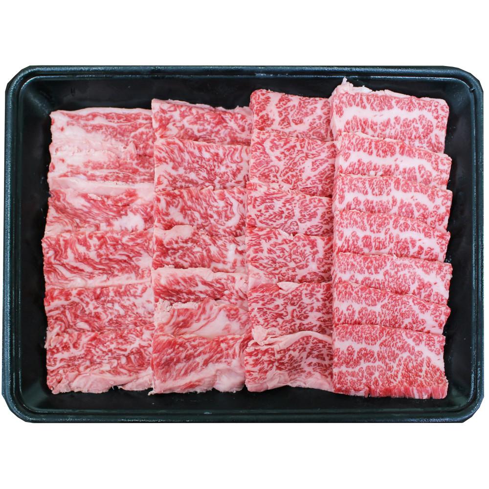 □【ふるさと納税】【鹿児島県産】A5 黒毛和牛 霜降り焼肉用 400g