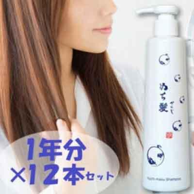 【ふるさと納税】塩とハイビスカスのシャンプー「ぬち髪」×12本(1年分)