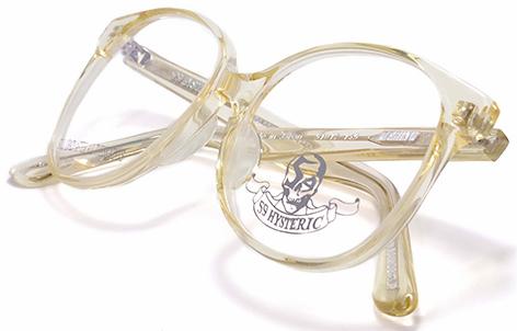 【 おしゃれ メガネ 】59HYSTERIC 《MARILYN》 ゴーキューヒステリック マリリン [ウェリントン][セルフレーム][クラシック][日本製] 送料無料 メガネケース・メガネ拭き付属
