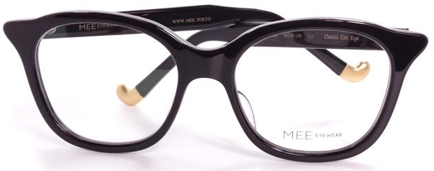 【 おしゃれ メガネ 】MEE EYEWEAR《 Classic Cat Eye 》ミーアイウェア クラシックキャットアイ [ウェリントン][セルフレーム][ファッション][日本製] 送料無料 メガネケース・メガネ拭き付