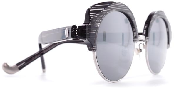 【 おしゃれ サングラス 】MEE EYEWEAR《 Inside Cruising 》ミーアイウェア インサイドクルージング [ラウンド][コンビフレーム][サーモント][ファッション][ユニーク][日本製] 送料無料 メガネケース・メガネ拭き付