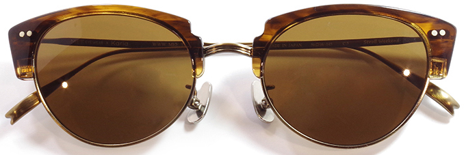 【 おしゃれ サングラス 】MEE EYEWEAR《 Stroll Weekend 》ミーアイウェア ストロールウィークエンド [サーモント][ファッション][日本製] 送料無料 メガネケース・メガネ拭き付