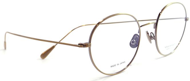 【 おしゃれ メガネ 】西出和男 作《 NK-741 》NISHIDEKAZUO SAKU ニシデカズオ サク エヌケー741 [ボストン][メタルフレーム][チタン][クラシック][日本製] 送料無料 メガネケース・メガネ拭き付