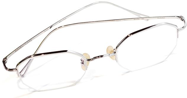 【 おしゃれ メガネ 】RAVENTEARS《 Evolution 》レイヴンティアーズ エヴォリューション [スクエア][オクタゴン][メタルフレーム][ナイロール][特別企画販売][SHINee テミンさん 着用モデル] 送料無料 メガネケース・メガネ拭き付