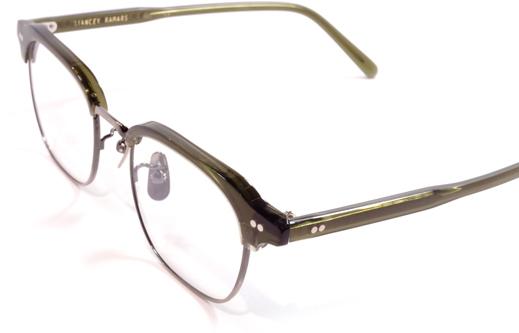 【 おしゃれ メガネ 】STANCEYRAMARS《 K61 》スタンシーラマーズ [眼鏡][メガネ][ウェリントン][コンビフレーム][サーモント][クラシック][日本製][福井県鯖江産] 伊達眼鏡 伊達メガネ サーモントメガネ ブロー ブローフレーム ブローメガネ プレゼント オシャレ