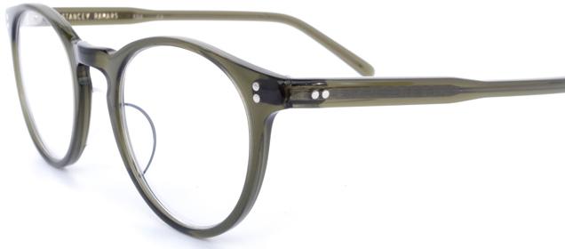 【 おしゃれ メガネ 】STANCEYRAMARS《 K64 》スタンシーラマーズ ケー64 [ボストン][セルフレーム][シンプル][クラシック][日本製] 送料無料 メガネケース・メガネ拭き付属
