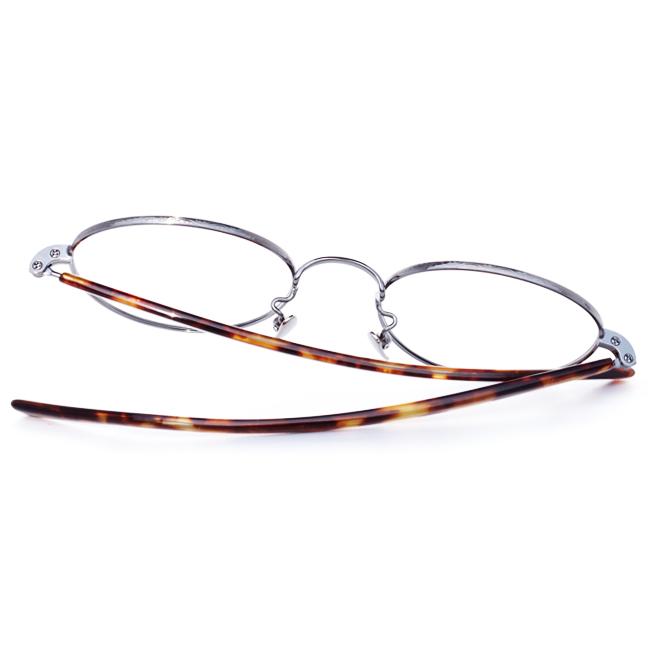 【 おしゃれ メガネ 】STANCEYRAMARS《 K65 》スタンシーラマーズ ケー65 [ラウンド][メタルフレーム][チタン][クラシック][日本製] 送料無料 メガネケース・メガネ拭き付属
