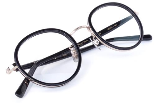 【 おしゃれ メガネ 】STANCEYRAMARS《 K66 》スタンシーラマーズ ケー66 [ラウンド][コンビフレーム][インナーリム][チタン][クラシック][日本製] 送料無料 メガネケース・メガネ拭き付属