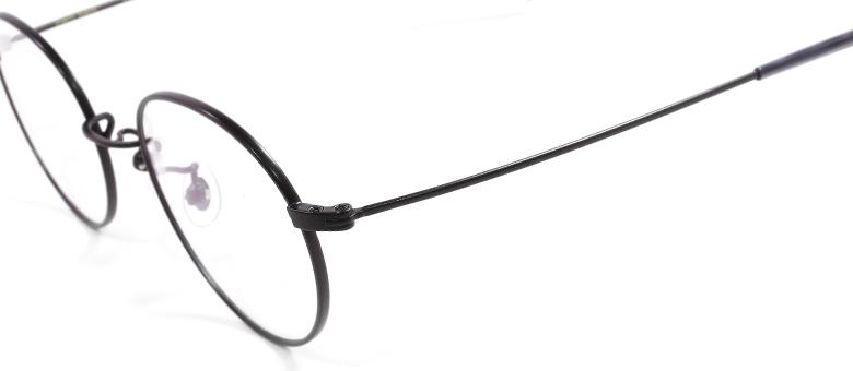 【 おしゃれ メガネ 】STANCEYRAMARS《 K70 》スタンシーラマーズ ケー70 [丸メガネ][メタルフレーム][チタン][クラシック][日本製] 送料無料 メガネケース・メガネ拭き付属