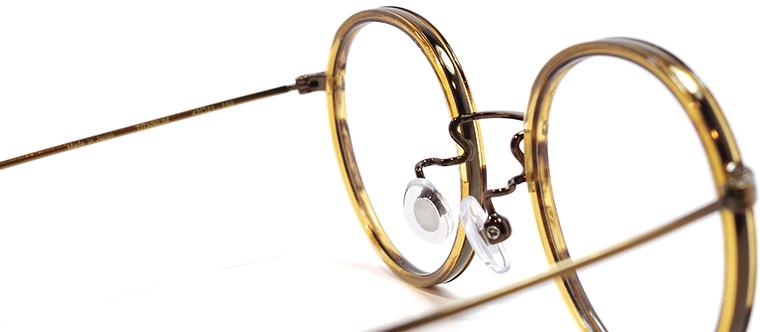 【 おしゃれ メガネ 】STANCEYRAMARS《 K71 》スタンシーラマーズ ケー71 [丸メガネ][コンビフレーム][インナーリム][チタン][クラシック][日本製] 送料無料 メガネケース・メガネ拭き付属