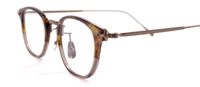 【 おしゃれ メガネ 】STANCEYRAMARS《 SR-007 》スタンシーラマーズ エスアール007《人気商品》[ウェリントン][コンビフレーム][チタン][クラシック][日本製] 送料無料 メガネケース・メガネ拭き付属