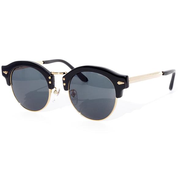 【 おしゃれ サングラス 】TailorHitch《 PATTERN Y-07 》テイラーヒッチ パターン ワイゼロナナ [ラウンド][コンビフレーム][サーモント][ファッション][日本製] 送料無料 メガネケース・メガネ拭き付