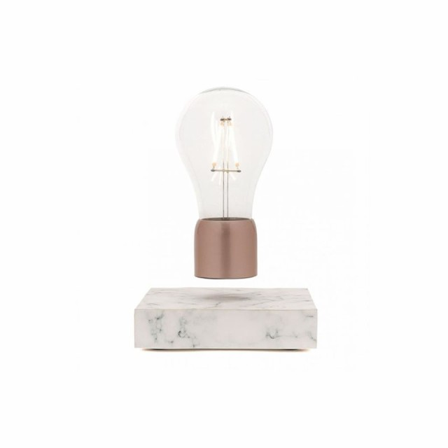 ライト オシャレ 卓上 フロアライト 電球ランプ インテリアライト インテリア DAVIS LEVITATION 白い 雑貨 おしゃれ 浮いている ギフト プレゼント 送料無料 ホワイトデー お返し【あす楽対応】
