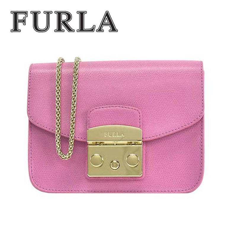 フルラ FURLA 斜め掛け ショルダーバッグ 『METROPOLIS』 METROPOLIS MINI CROSSBODY [BGZ7-ARE-OR9/ORCHIDEA]