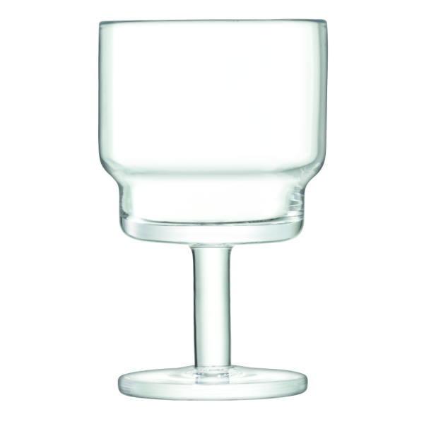 LSA International UTILITY[ユティリティ] ワイングラス 220ml × 2個セット クリア ※金額にかかわらず送料がかかります。※代引き・包装・同梱不可