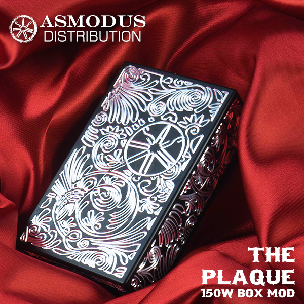 ASMODUS vape アスモドス アスモダス アスモダス プラーク アスモドス バッテリー2本タイプ designed Plaque by USA Plaque 150W Box Mod, クレセント(輸入家具&雑貨):d00a8eef --- officewill.xsrv.jp