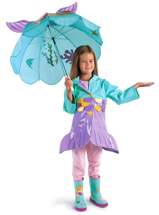 Kidorable Kid Lover Mermaid Umbrella Child Anime Kids