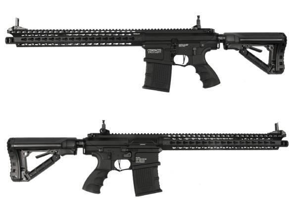 G&G 海外製電動ガン本体 TR16 MBR 308SR (G2H-016-SRH-BNB) エアガン 18歳以上 サバゲー 銃